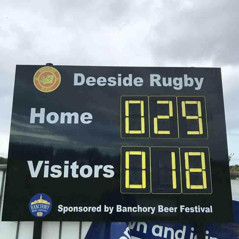 Deeside/Garioch U14s WIN (H) vs Gordonstoun 5/9/18