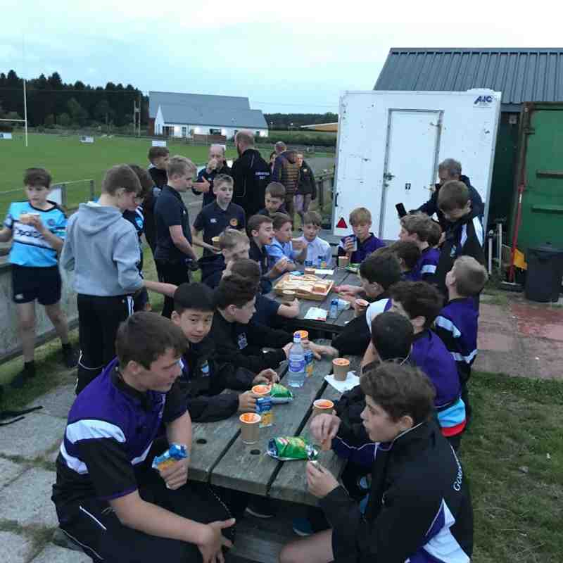 Deeside/Garioch U14s WIN (H) vs Gordonstoun 5/9/18