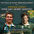 The Voice of Rugby Aberdeen Dinner - book now!