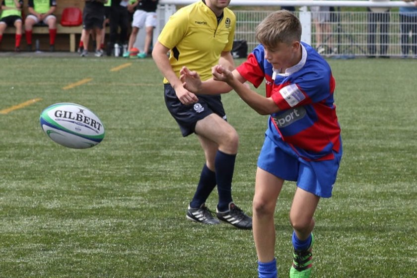 Deeside Player Called Up for Glasgow Warriors