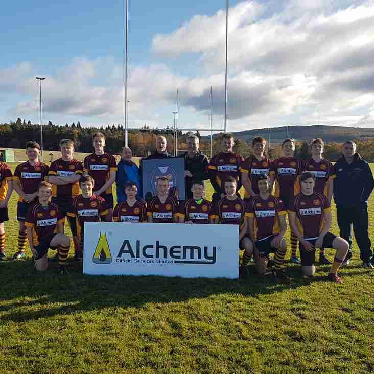 Deeside U16s Sponsored by Alchemy