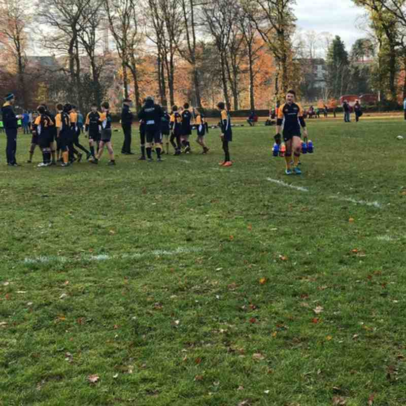 Deeside/Garioch U13s v Moray/Huntly - 23/11/18