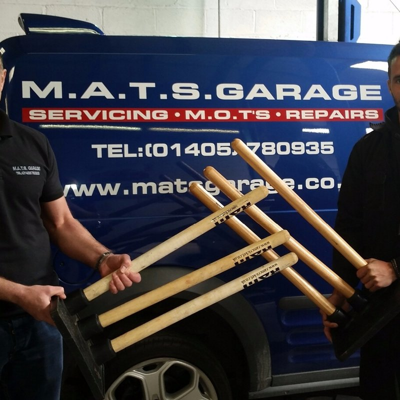 MATS Garage - Thanks to our Sponsors