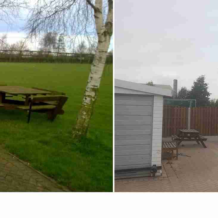 GTCC Outdoor Family Area Works Completed