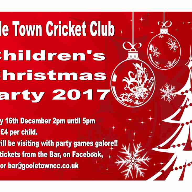 Kids Christmas Party 2017 - 16th December