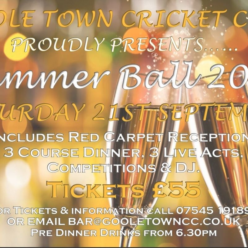 Goole Town CC Presents.......