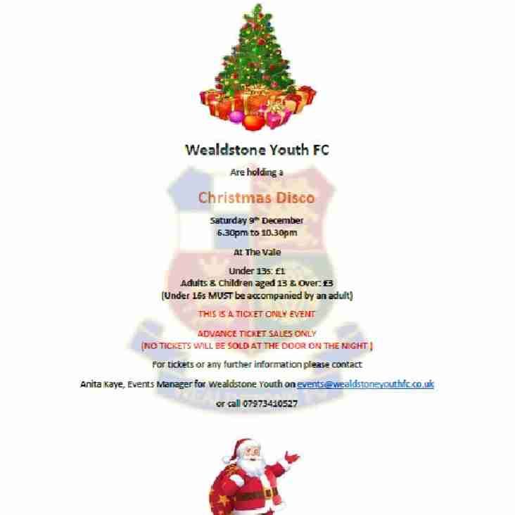 Wealdstone Youth FC Christmas Party