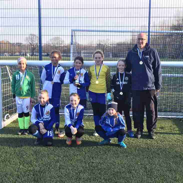 Under 10 Girls Win Tournament