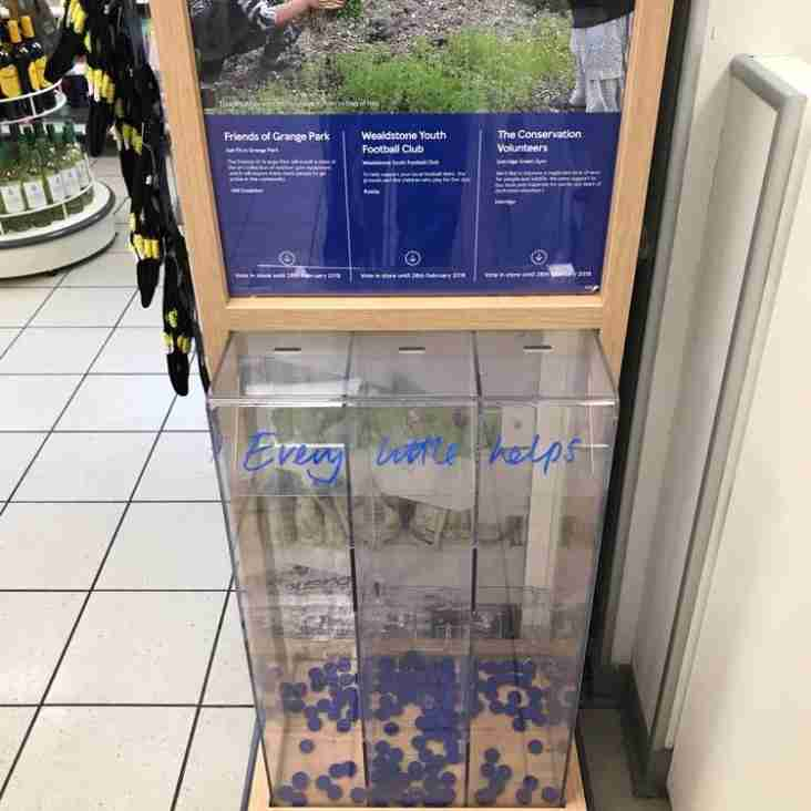 Get down to Tesco's and start collecting your tokens