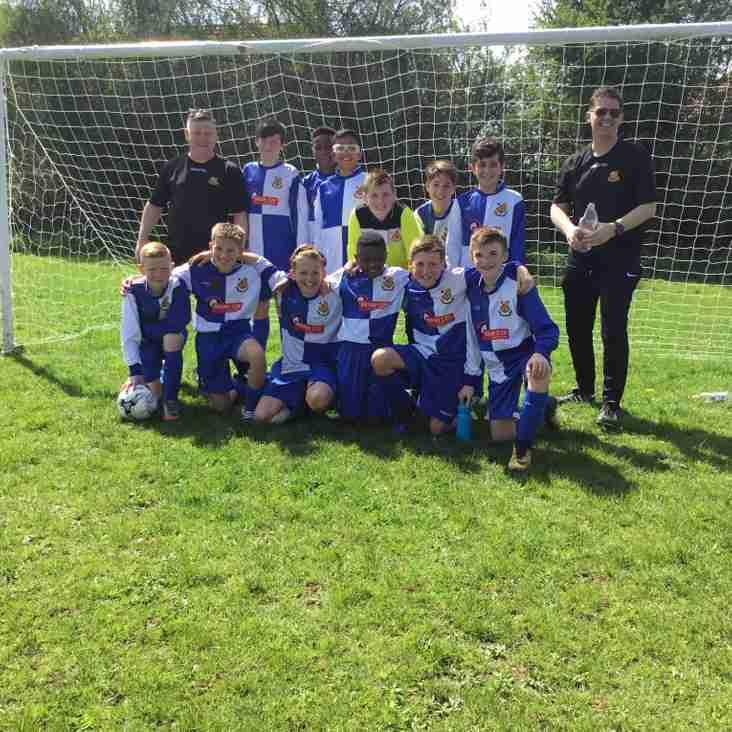 Wealdstone Under 12 White Win the League