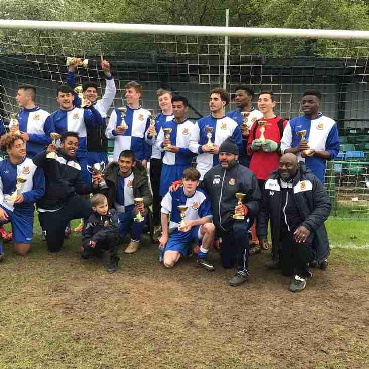 Wealdstone Under 18s Win League Cup