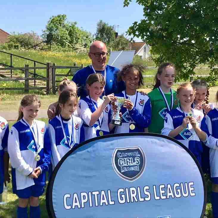 Wealdstone Under 10 Girls Tournament Winners
