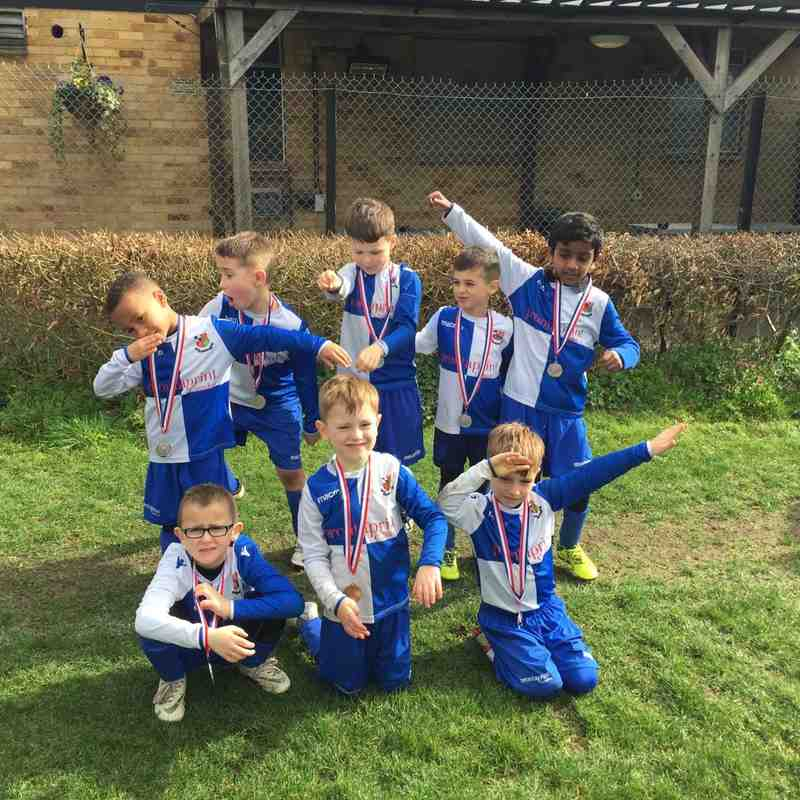 Under 7 White Harefield Tournament