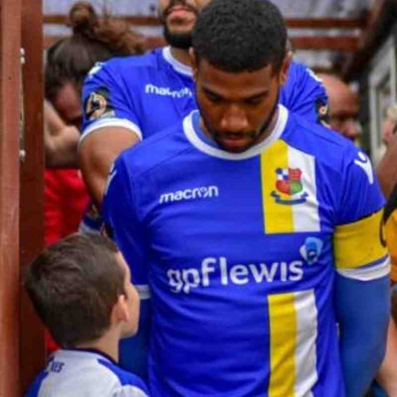 Wealdstone Mascot 6th April 2019