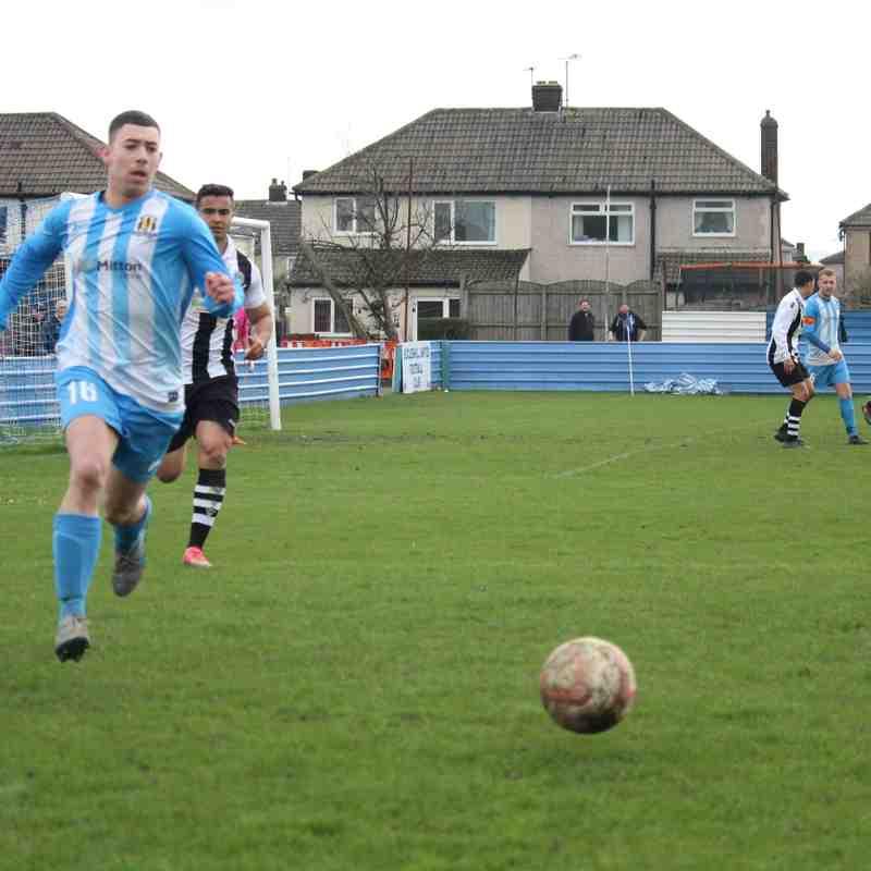 Eccleshill united 3 - 0 Retford united
