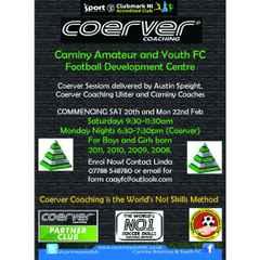 COERVER COACHING FOOTBALL DEVELOPMENT CENTRE ENROLLING