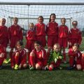 Under 9 Girls Team - IFA SSGs Centre beat Various 1 - 0
