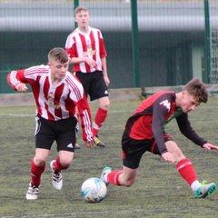 U15 Carniny AYFC 2-0 Glentoran Academy NL KO Cup 12/11/16