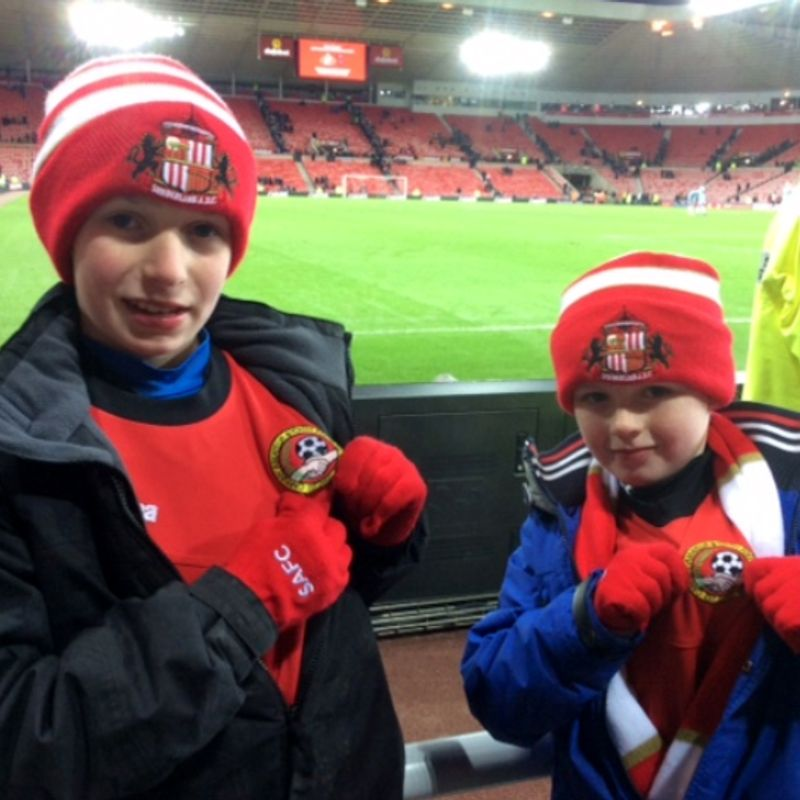 STADIUM OF LIGHT VISIT FOR CARNINY PLAYERS