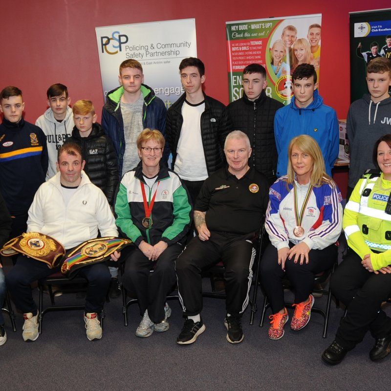PCSP's 'prevention better than cure' approach scores for Ballymena's 'Teenage Kicks' project