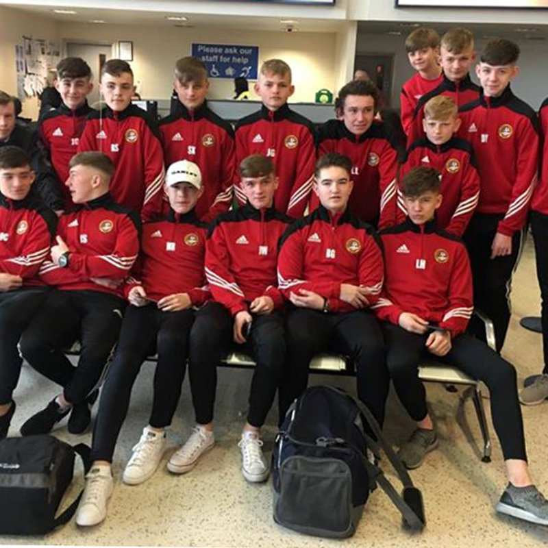 UNDER 15s JET OFF TO SPANISH TOURNAMENT