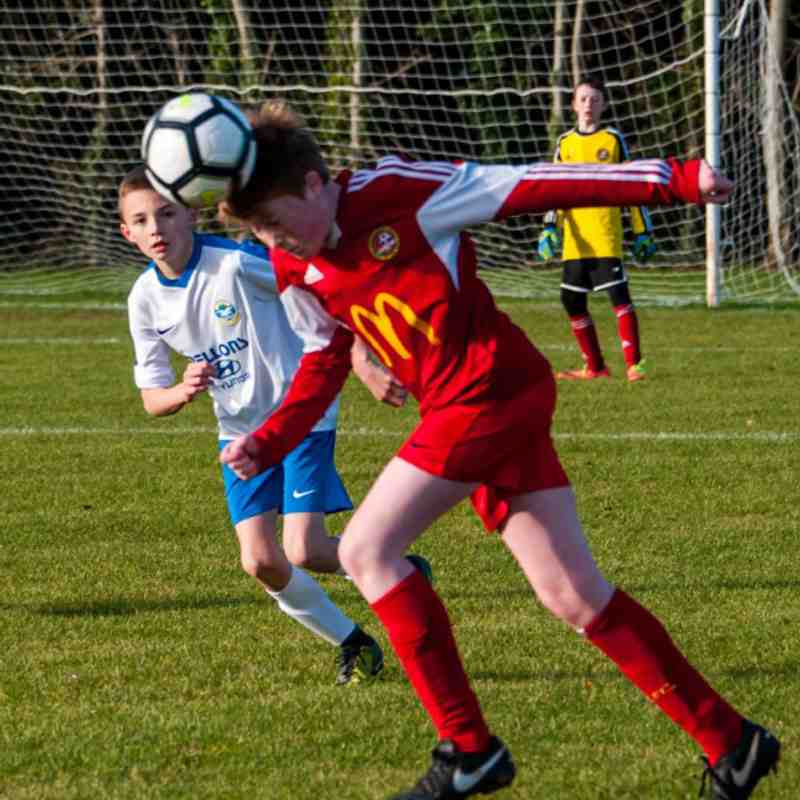 U14 SBYL Carniny AYFC v Castle Juniors 18/11/2017