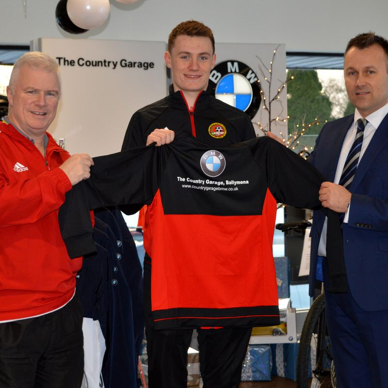 CARNINY WELCOME CONTINUED SUPPORT FROM THE COUNTRY GARAGE
