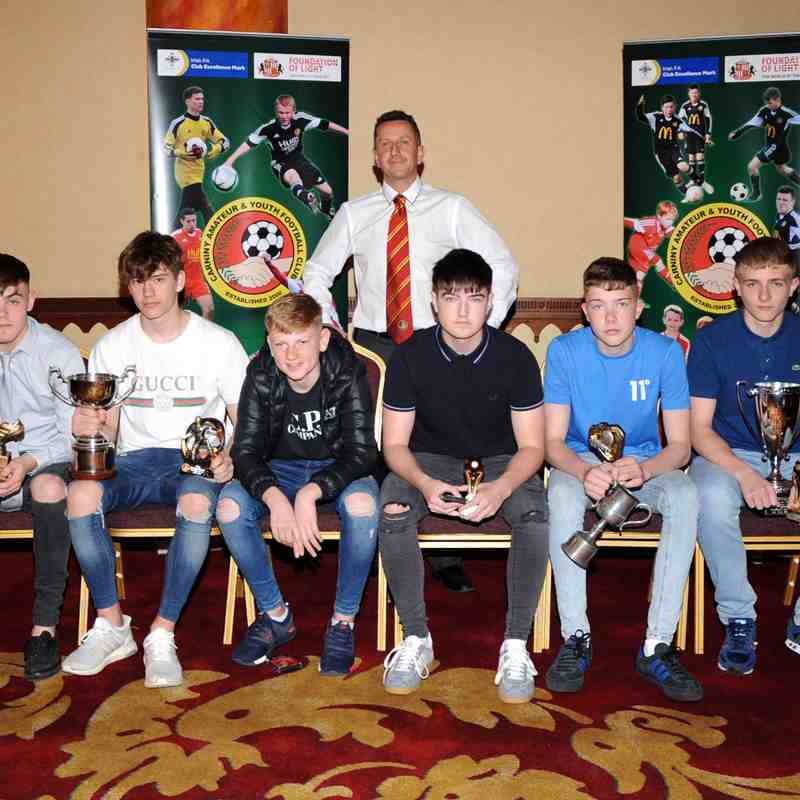 Carniny Amateur and Youth FC Youth Prize Night 2018