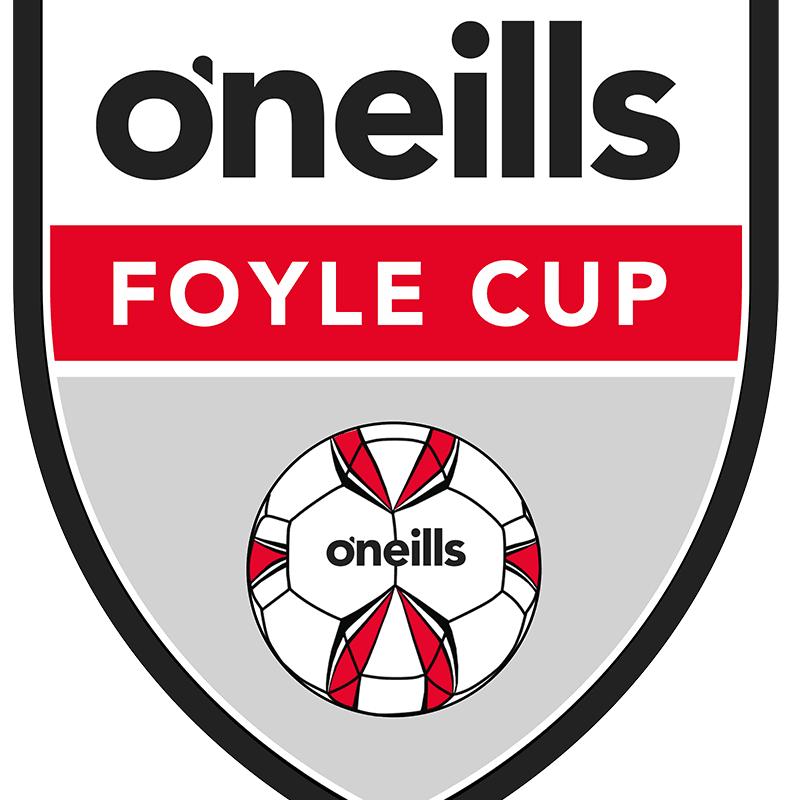 THREE TEAMS FOYLE CUP BOUND