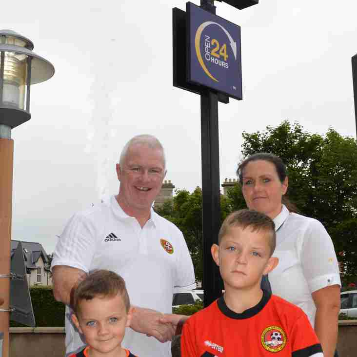 CLUB WELCOMES CONTINUED SPONSORSHIP