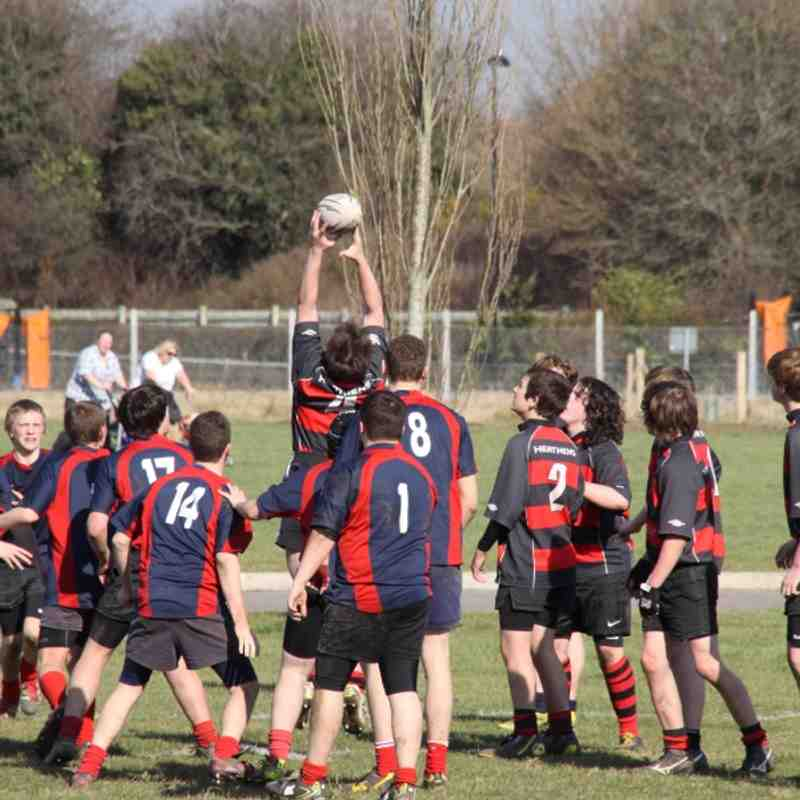 U16's Fareham vs Fawley 26-02-12