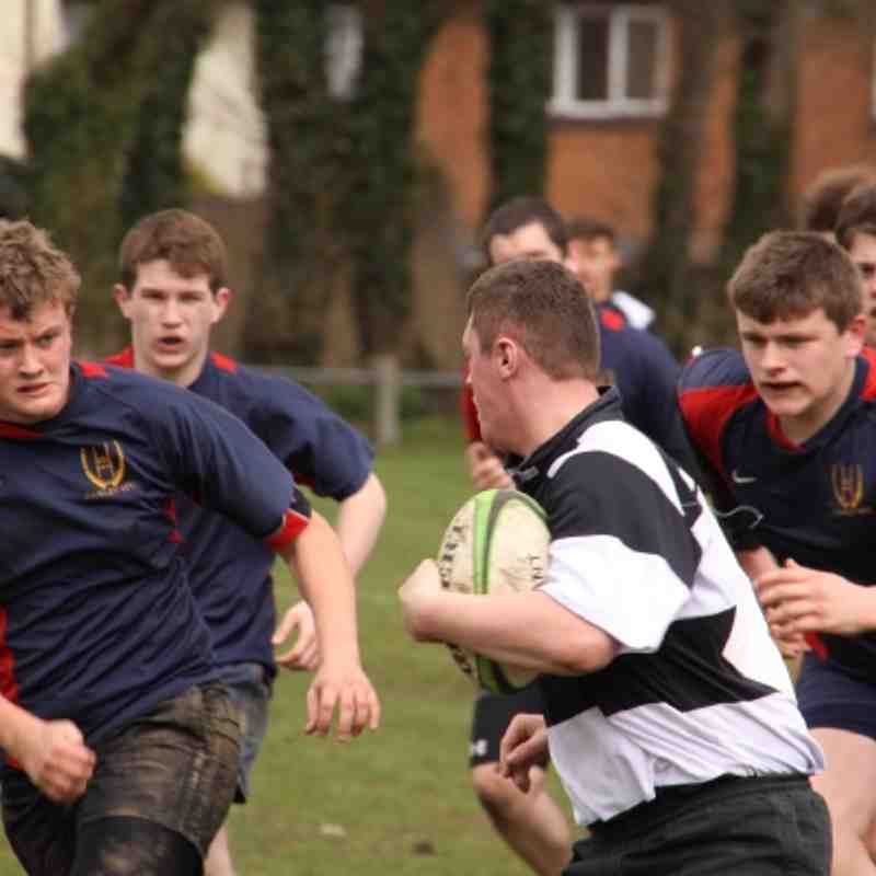 U16's Havant vs Fawley 19-03-12