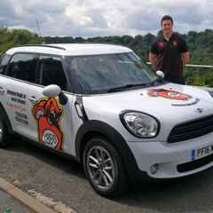 New Mini and Junior Rugby director hits the roads.