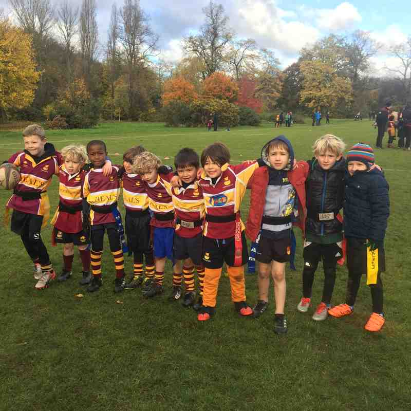 Hampstead U7's at Regents Park