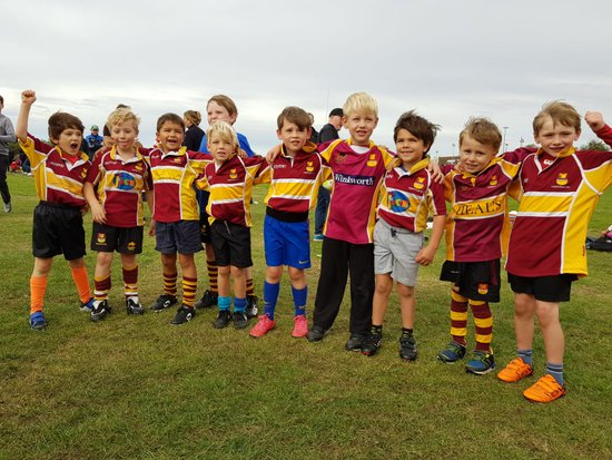 Hampstead U7's at Finchley RFC