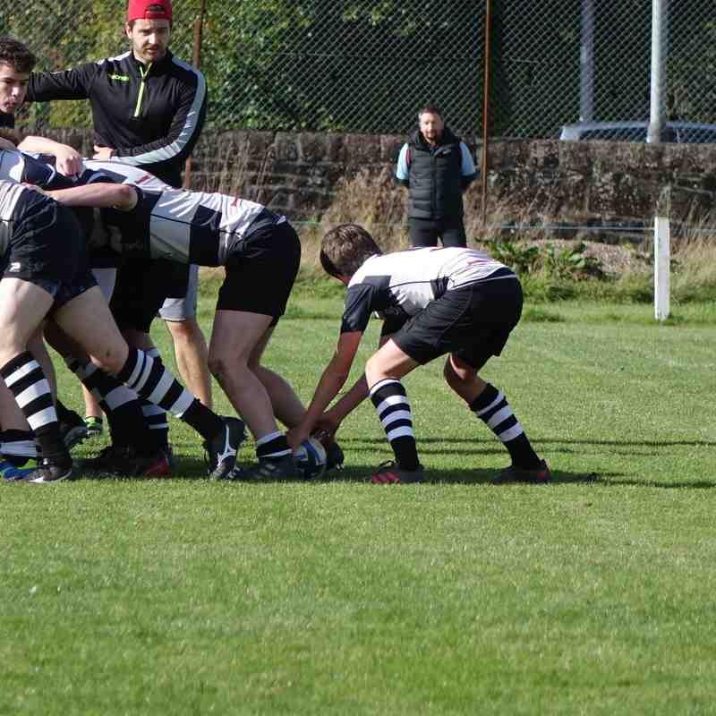 Allans Glen V Perthshire U16's