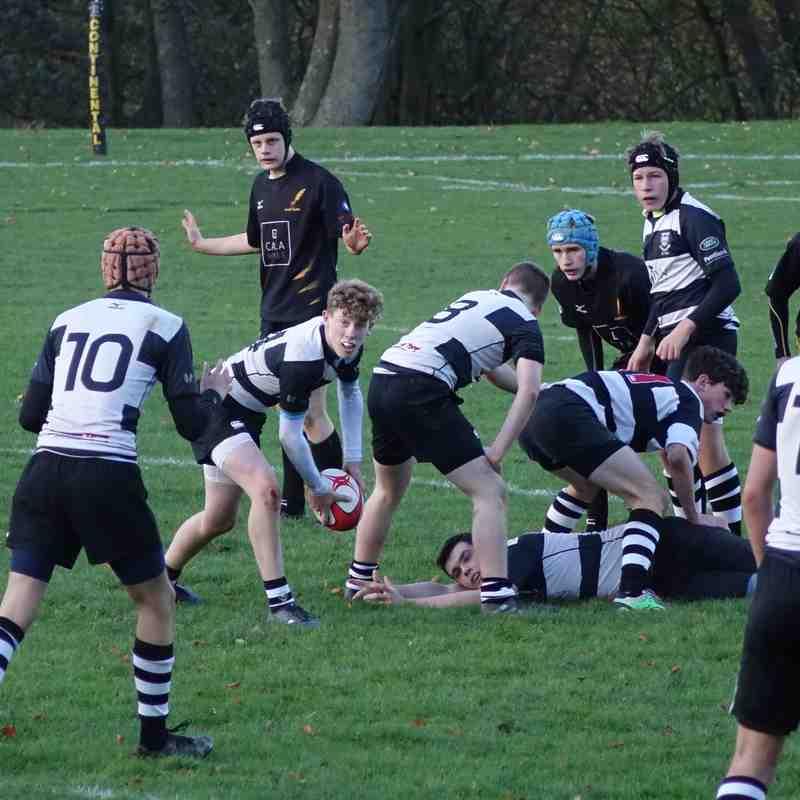 Perthshire U16 v Currie away