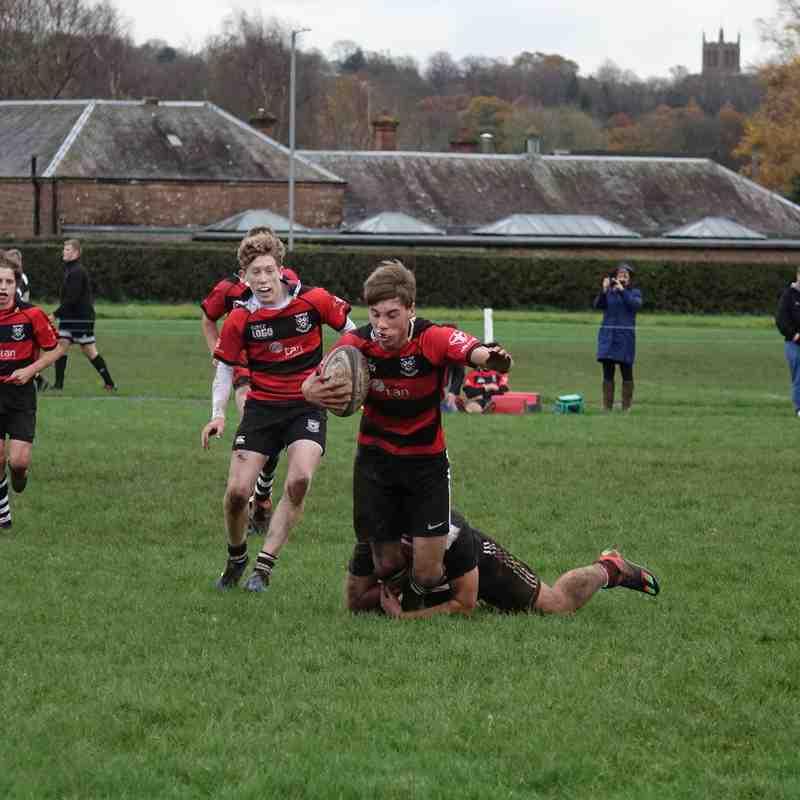 Dumfries RFC v Perthshire U16