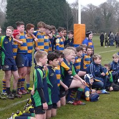 U13 Hampshire Cup Final march 2018