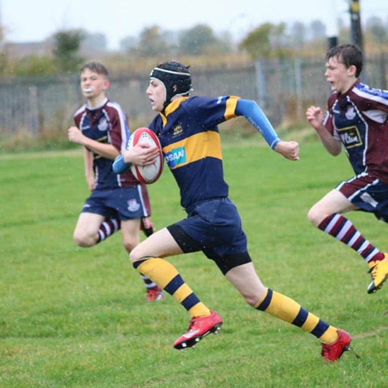 Three on the trot for U14's