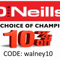 ONeill's Discount Code 10% off This Weekend!