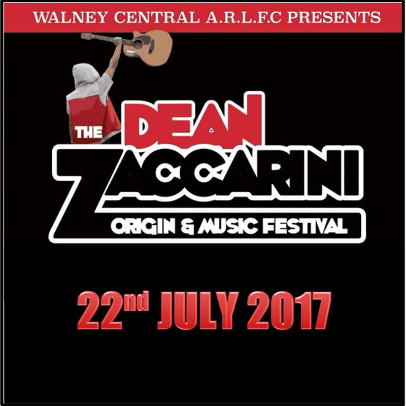 Dean Zaccarini Origin & Music Festival 2017