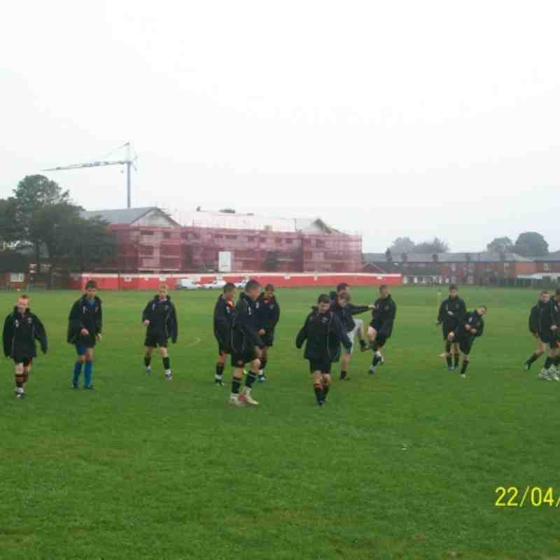 away radcliffe juniors 24th sept