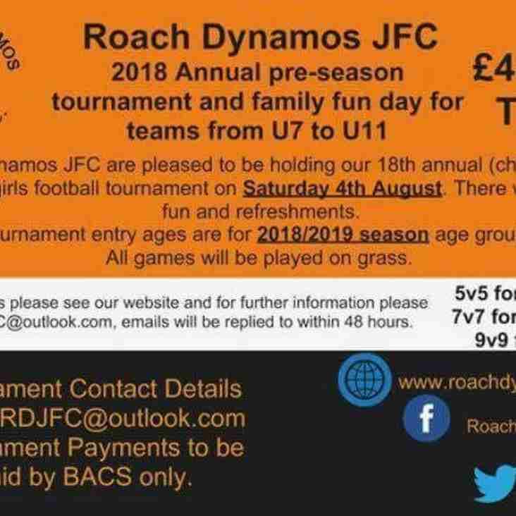 Roach Dynamos 2018 Tournamant