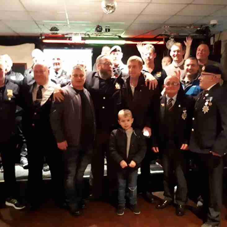 Stourbridge FC raise over £750 for The Royal British Legion