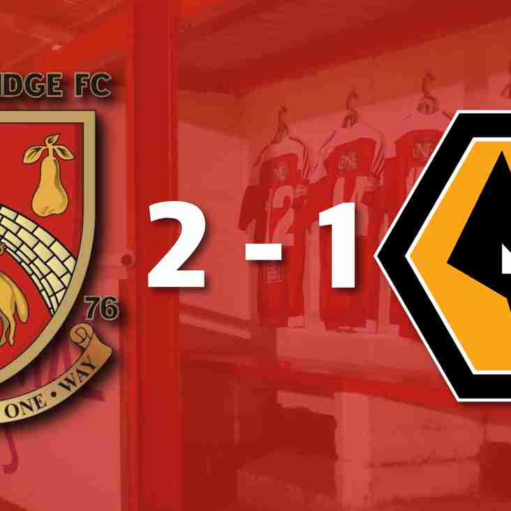 Stourbridge 2-1 Wolves - Match Report