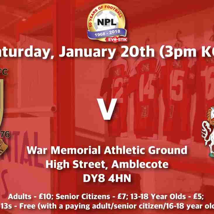 Stourbridge v Altrincham - Match Preview