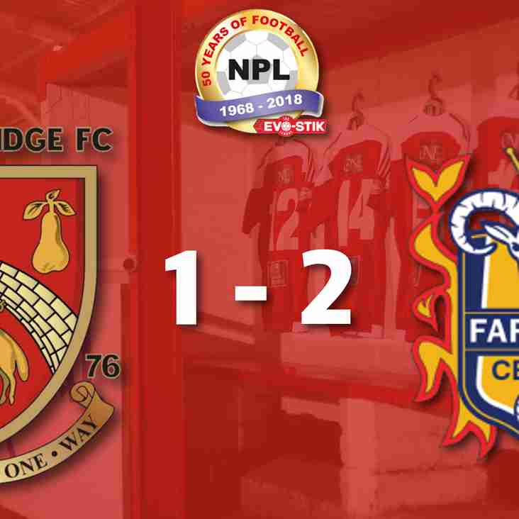 Stourbridge 1-2 Farsley Celtic - Match Report