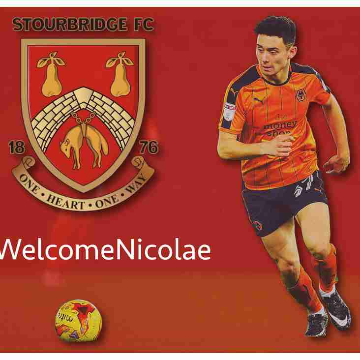 Glassboys swoop for Wolves youngster Nicolae Carnat