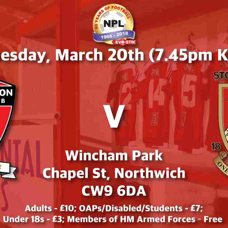Witton Albion v Stourbridge - Match Preview